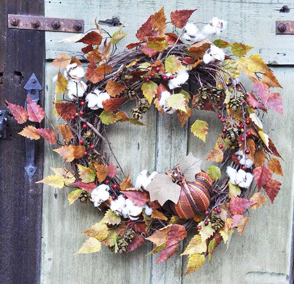 Wreath Fall Pumpkin