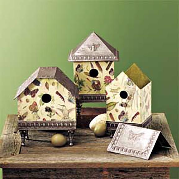 Birdhouses Set of 3