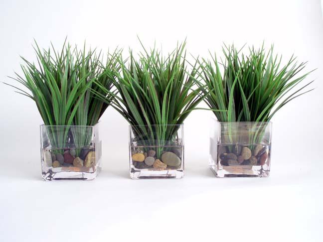 Wild Grass Votive Set of 3 Med