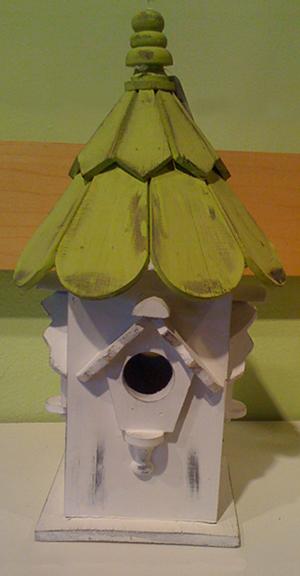 Bird House Green