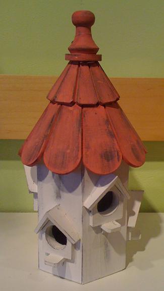 Bird House Pink