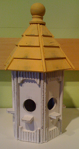 Bird House Yellow