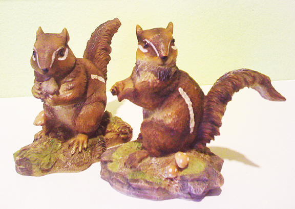 Chipmunks Set Of Two