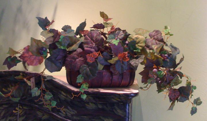 Grape Ivy Basket