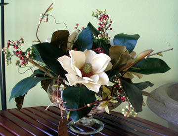 Magnolias in a Bowl