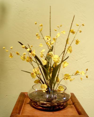 Oncidium Orchid Arrangement - Yellow