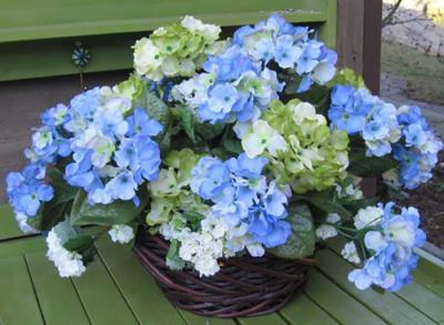 Hydrangea Basket